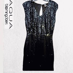 🆕AQUA Sultry Sequined Party Dress✨